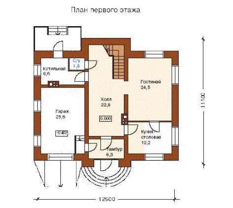 Внутренняя планировка частного дома