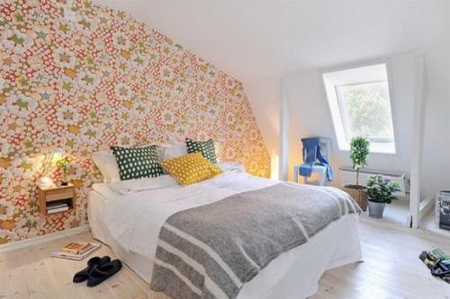 Сделай выбор обоев для спальни правильно