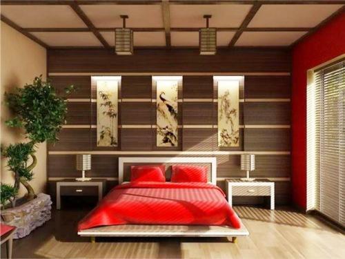 Японский стиль в интерьере. Фото