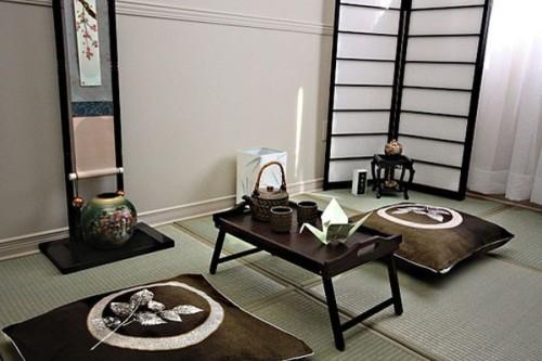 Японский стиль в интерьере. Фото 5