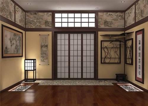 Японский стиль в интерьере. Фото 6