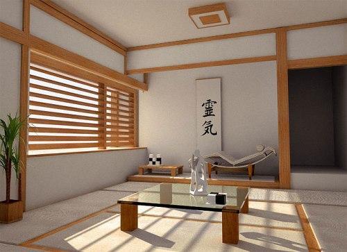 Японский стиль в интерьере. Фото 7