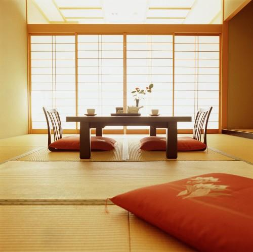 Японский стиль в интерьере. Фото 8