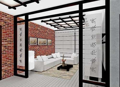 Японский стиль в интерьере. Фото 9