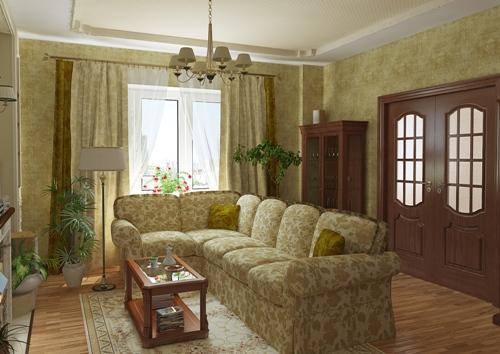 Английский стиль гостиной в интерьере. Фото