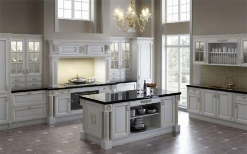 Английский стиль в интерьере кухни. Фото