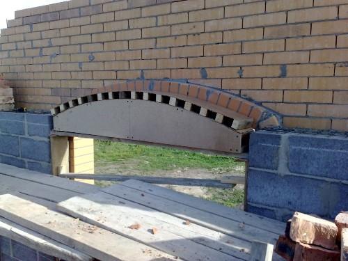 Доработка шаблона для оконной арки