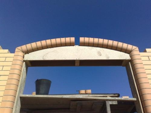 Набор арки из кирпича