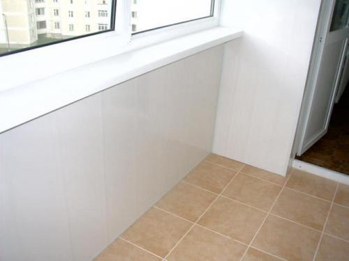 Плитка для пола на балконе