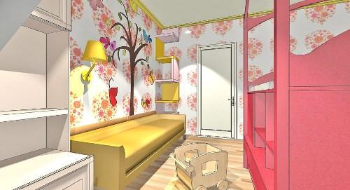 Дизайн детской комнаты для новорожденного. Фото 4