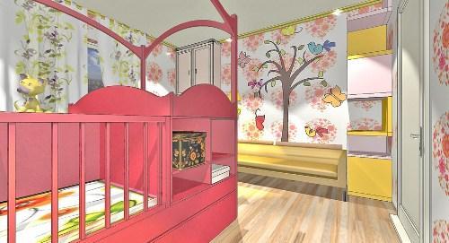 Дизайн детской комнаты для новорожденного. Фото 5