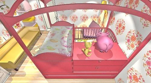 Дизайн детской комнаты для новорожденного. Фото 8
