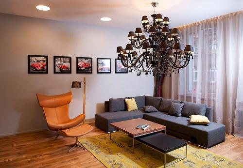 Дизайн интерьера квартиры студии. Фото