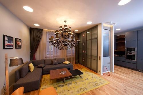 Дизайн интерьера квартиры студии. Фото 5