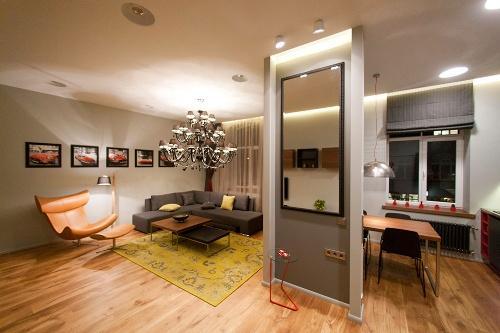 Дизайн интерьера квартиры студии. Фото 6