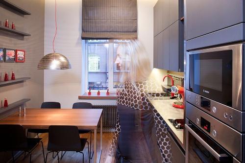 Дизайн интерьера квартиры студии. Фото 9