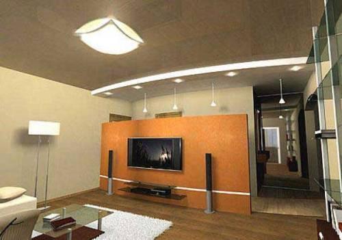 Дизайн интерьера однокомнатной хрущевки. Фото 12