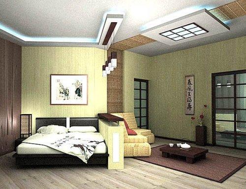 Дизайн интерьера в японском стиле. Фото 7