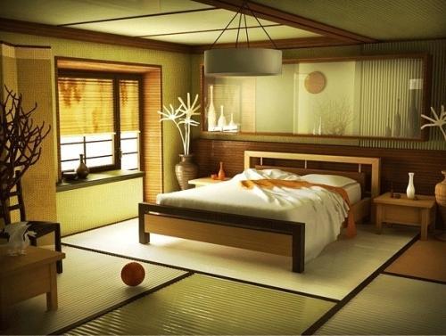 Дизайн интерьера в японском стиле. Фото 9