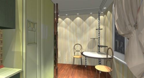 Дизайн кухни 9 кв м. Фото 2