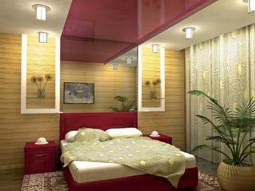 Дизайн потолков спален. Фото 13