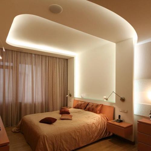 Дизайн потолков спален. Фото 8