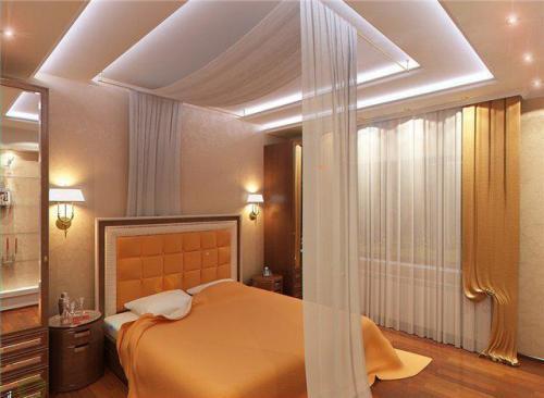 Дизайн потолков спален. Фото 9