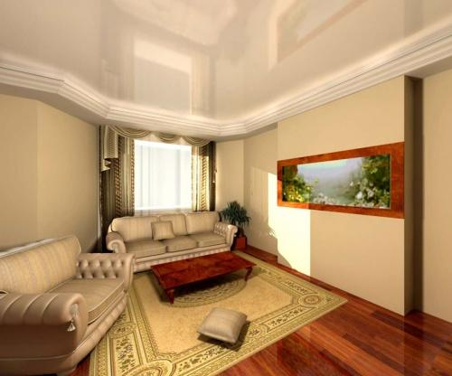 Дизайн потолков в квартире. Фото 10