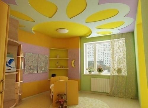 Дизайн потолков в квартире. Фото 14