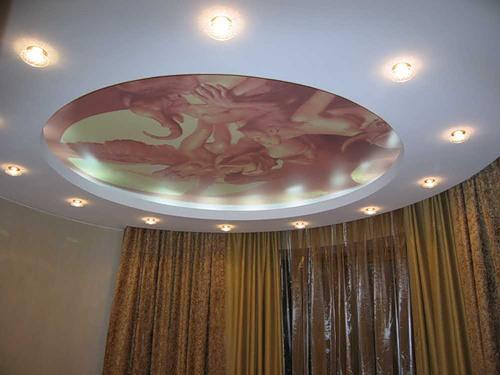 Дизайн потолков в квартире. Фото 15