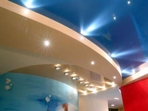 Дизайн потолков в квартире. Фото 16