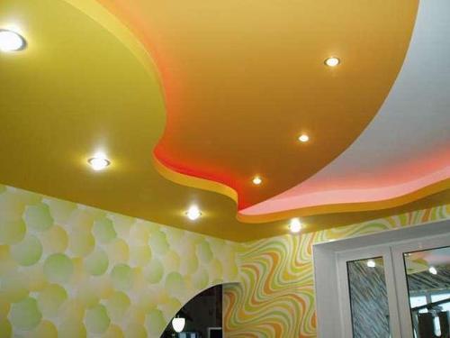 Дизайн потолков в квартире. Фото 17