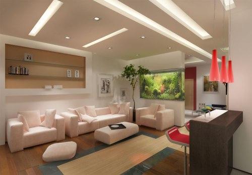 Дизайн потолков в квартире. Фото 18