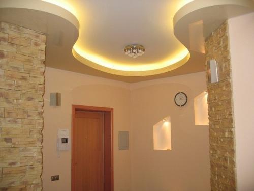 Дизайн потолков в квартире. Фото 19