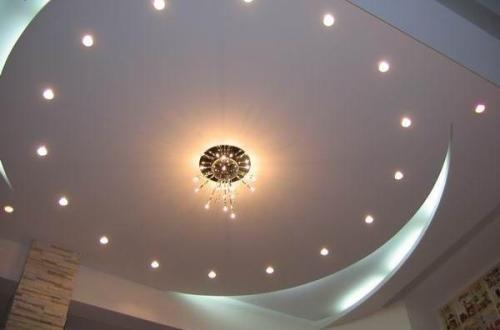 Дизайн потолков в квартире. Фото 20