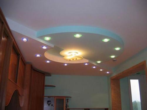 Дизайн потолков в квартире. Фото 21