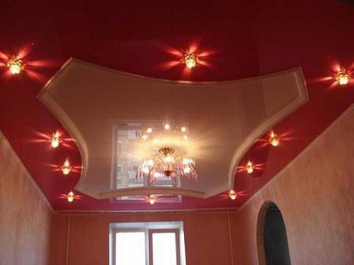 Дизайн потолков в квартире. Фото 22