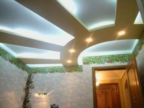 Дизайн потолков в квартире. Фото 3