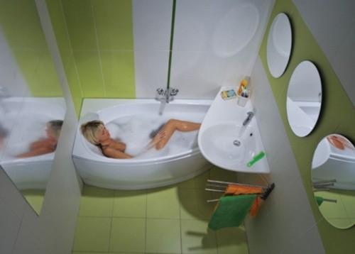 Дизайн ванной комнаты в хрущевке. Фото 12