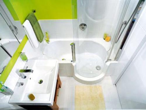 Дизайн ванной комнаты в хрущевке. Фото 14