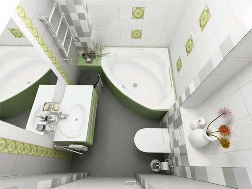 Дизайн ванной комнаты в хрущевке. Фото 15