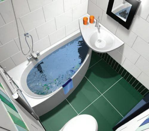 Дизайн ванной комнаты в хрущевке. Фото 17