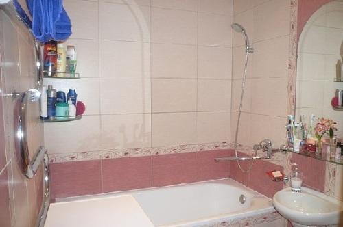 Дизайн ванной комнаты в хрущевке. Фото 18