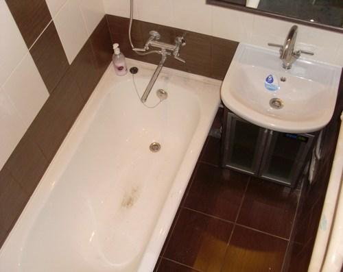 Дизайн ванной комнаты в хрущевке. Фото 19