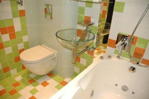Дизайн ванной комнаты в хрущевке. Фото 5