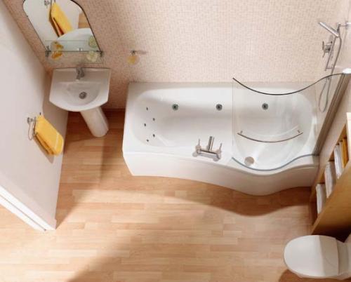 Дизайн ванной комнаты в хрущевке. Фото 7