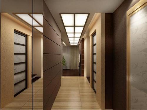 Деревянная комната интерьер