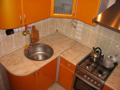 Фото кухни 6 кв. м - 10
