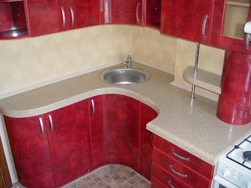 Фото кухни 6 кв. м - 12