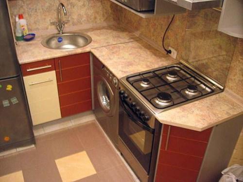 Фото кухни 6 кв. м - 5